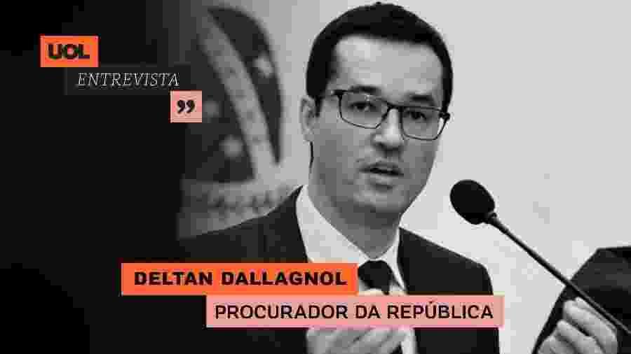 UOL Entrevista com Deltan Dallagnol (07/07/20) - Arte/UOL