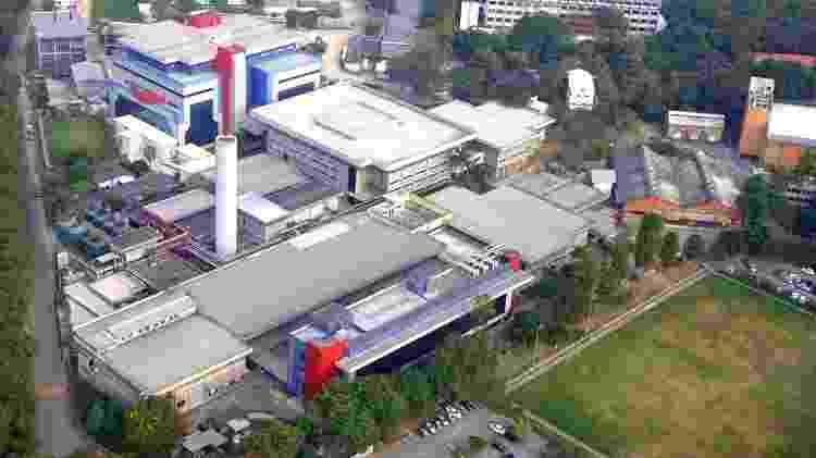Vista aérea de Bio-Manguinhos, a fábrica de vacinas da Fiocruz - Bernardo Portella/Fiocruz - Bernardo Portella/Fiocruz