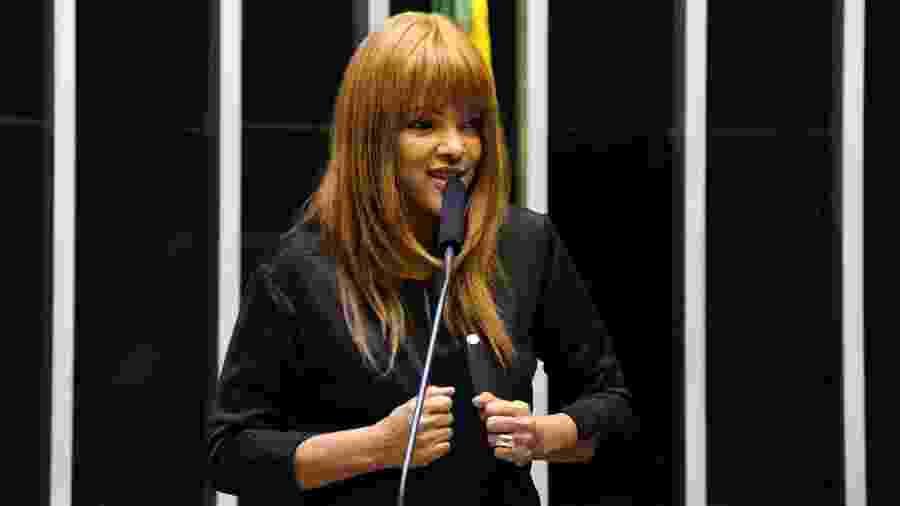A deputada federal Flordelis (PSD-RJ) pediu a colegas da Câmara para não ser cassada - Cleia Viana/Câmara dos Deputados