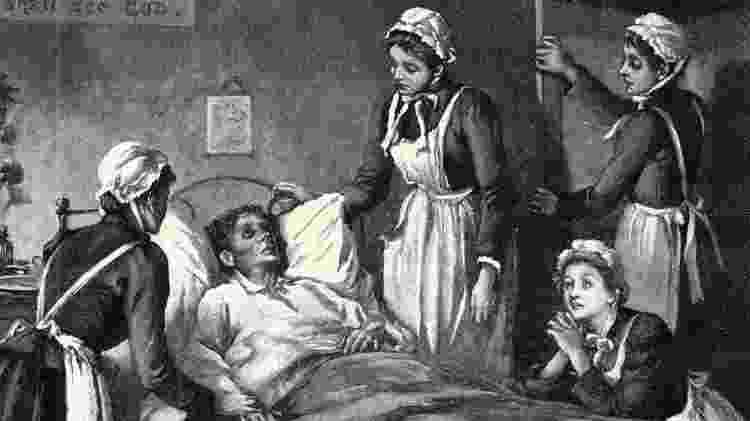 A tuberculose foi responsável pela morte de dezenas de milhões de pessoas - Getty Imagem - Getty Imagem