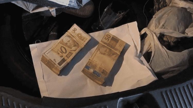 Dinheiro operação Armadeira 2 - Polícia Federal/Divulgação - Polícia Federal/Divulgação