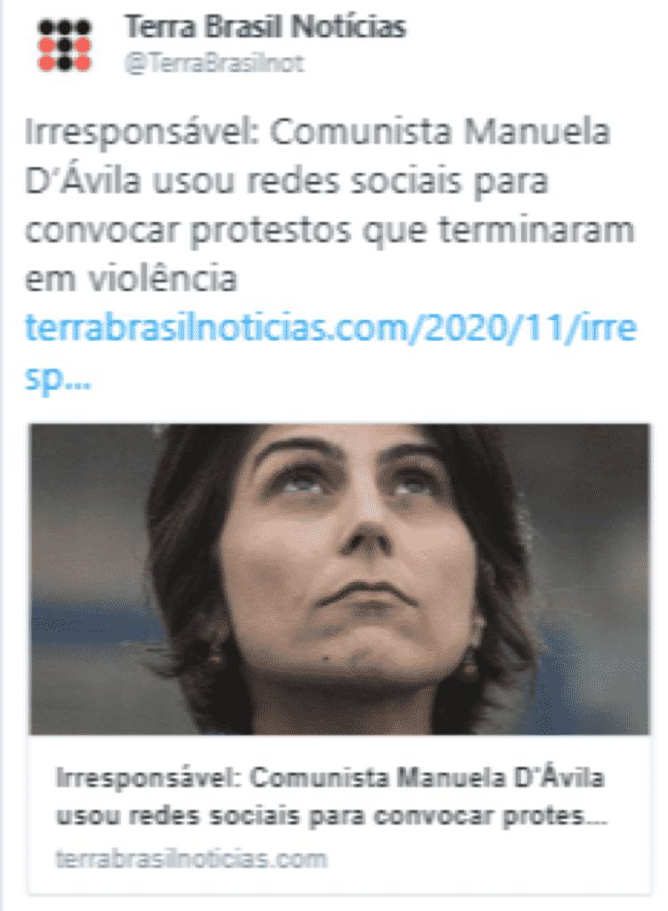 1 - Captura do portal Terra Brasil Notícias - Captura do portal Terra Brasil Notícias