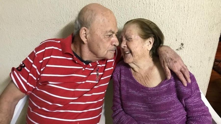 Ana e Emídio morreram com apenas duas horas de diferença por complicações da covid-19, na quarta-feira (27) - Arquivo Pessoal