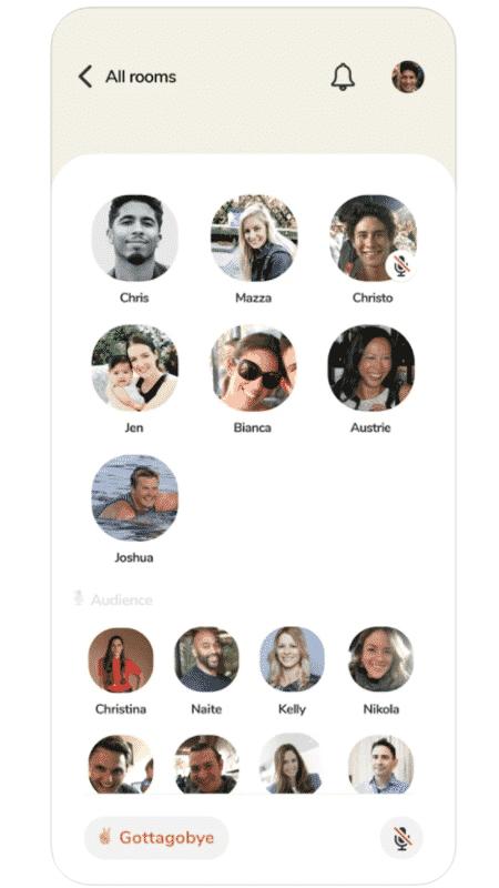 App Clubhouse para iOS - Reprodução - Reprodução