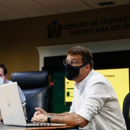 """Arquivo - Secretário municipal de Saúde do Rio: """"A gente precisa considerar a educação como um serviço essencial"""" - Divulgação/Prefeitura do Rio"""