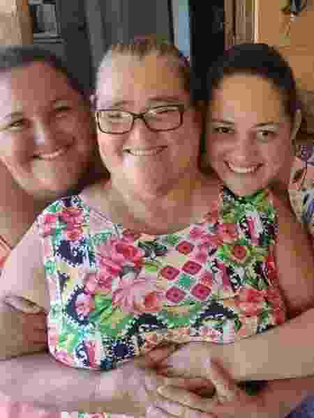 Mãe, avó e tia dos trigêmeos - Arquivo pessoal - Arquivo pessoal