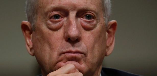 O general da reserva James Mattis depõe em sabatina no Senado americano para o cargo de secretário de Defesa