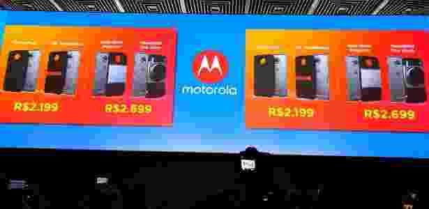 Novos lançamentos da Motorola e os preços - 2 - Márcio Padrão/UOL - Márcio Padrão/UOL
