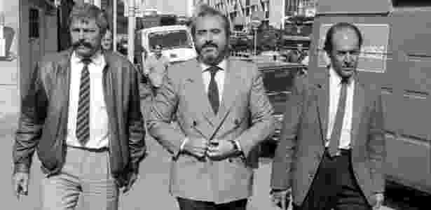 O juiz Giovanni Falcone - GETTY IMAGES/BBC - GETTY IMAGES/BBC