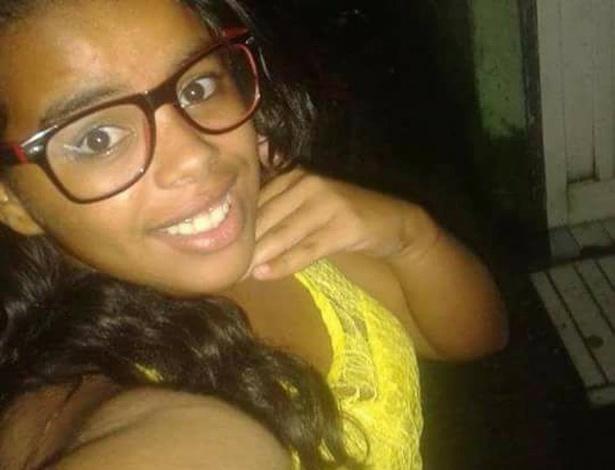 A adolescente Fernanda da Silva foi morta em Bertioga, na frente da mãe e das filhas
