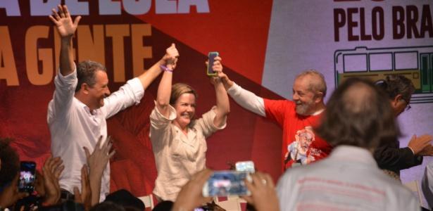 Resultado de imagem para evento com Lula na fonte nova