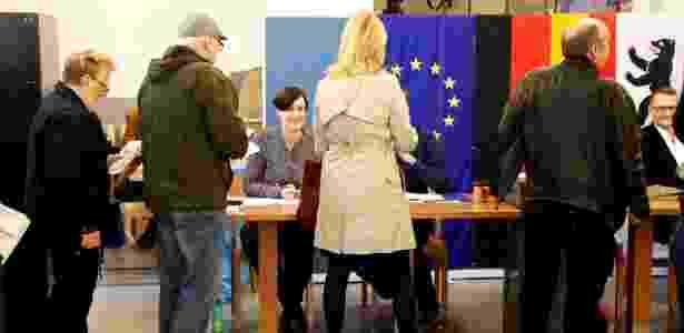 Fila de votação na Alemanha - Reuters/Fabrizio Bensch - Reuters/Fabrizio Bensch