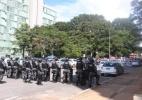 Alunos da UnB protestam em frente ao MEC contra corte em orçamento - Gloria Tega/Código 19/Estadão Conteúdo