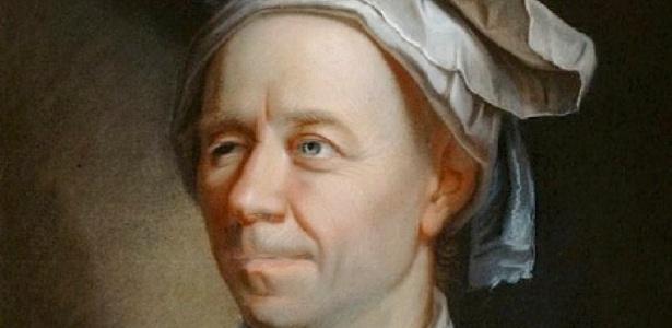 O  matemático suíço Leonhard Euler, em pintura de Jakob Emanuel Handmann (1753) - Reprodução
