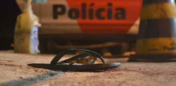 28.mai.2018 - Homem disparou contra participantes de baile funk no Sacomã, zona sul