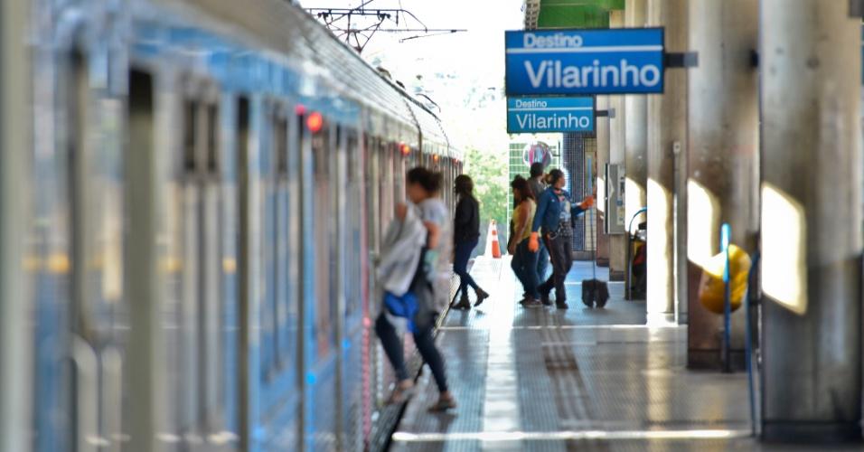 30.mai.2018 - Metrô de Belo Horizonte (MG) funcionou apenas na parte da manhã por causa da greve dos metroviários.