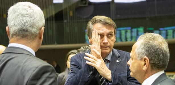 O candidato do PSL ao Planalto, Jair Bolsonaro