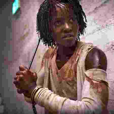 """Lupita Nyong""""o em foto de """"Us"""" - Reprodução/EW"""