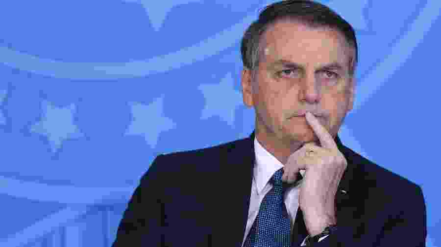 O Presidente Jair Bolsonaro (PSL) - Andre Coelho/Folhapress
