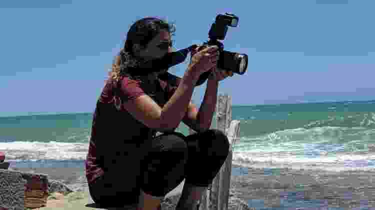 A fotógrafa Bruna Veloso - Arquivo pessoal - Arquivo pessoal