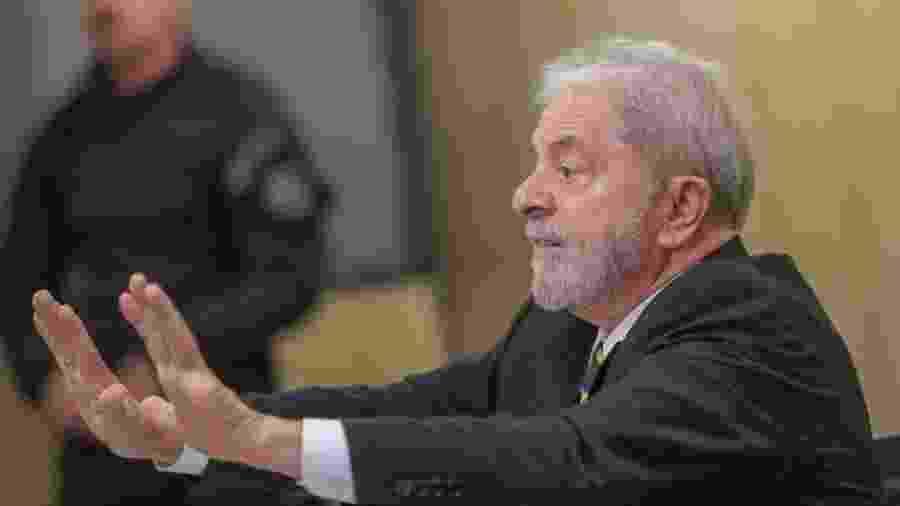 31.out.2019 - Ex-presidente Lula dá entrevista para jornalistas da Agência Pública, em Curitiba - Ricardo Stuckert