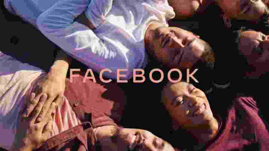 Nova marca do Facebook - Reprodução