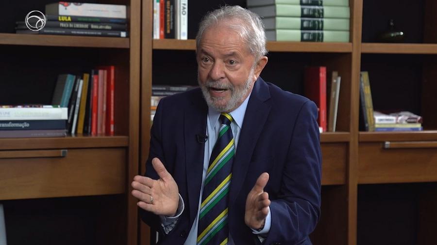 Ex-presidente Luiz Inácio Lula da Silva concede entrevista ao UOL - UOL