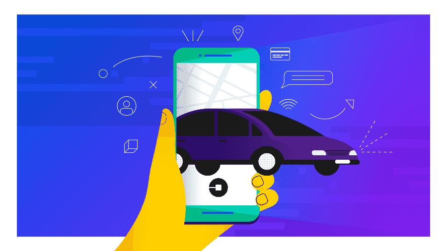 Uber vai oferecer assinatura mensal para usuários em seu aplicativo - Arte UOL