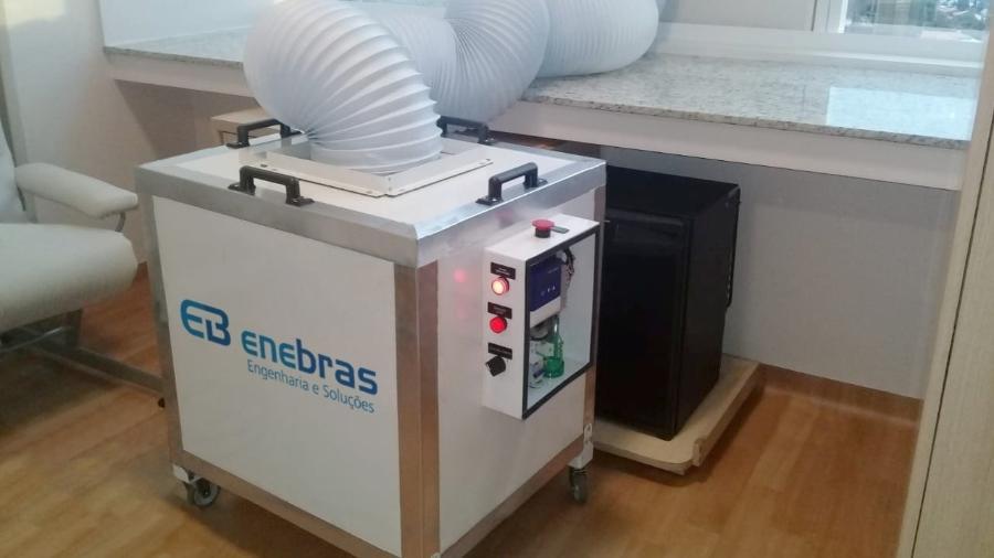 Sistema Atmus auxilia a prevenir propagação do coronavírus no ambiente hospitalar do Albert Einstein - Divulgação/Hospital Albert Einstein