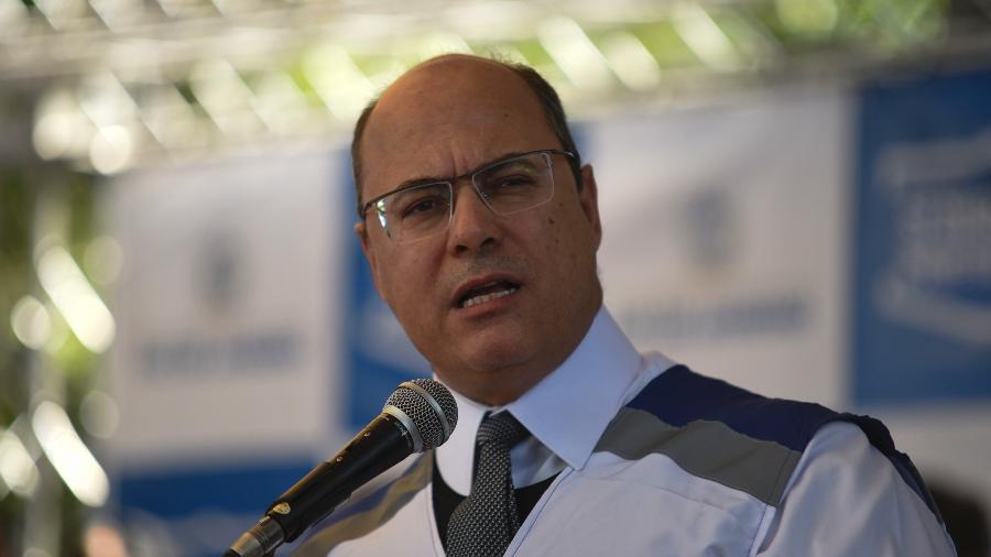 Wilson Witzel, governador do Rio de Janeiro - Fabio Teixeira/NurPhoto via Getty Images
