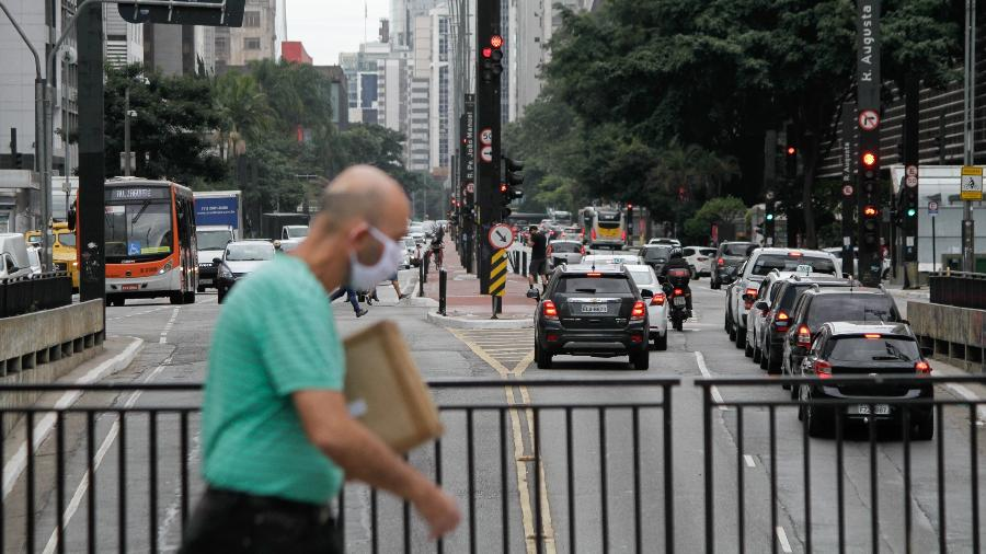 13.mai.2020 - Movimentação em São Paulo em meio à pandemia do novo coronavírus - Fábio Vieira / Estadão Conteúdo
