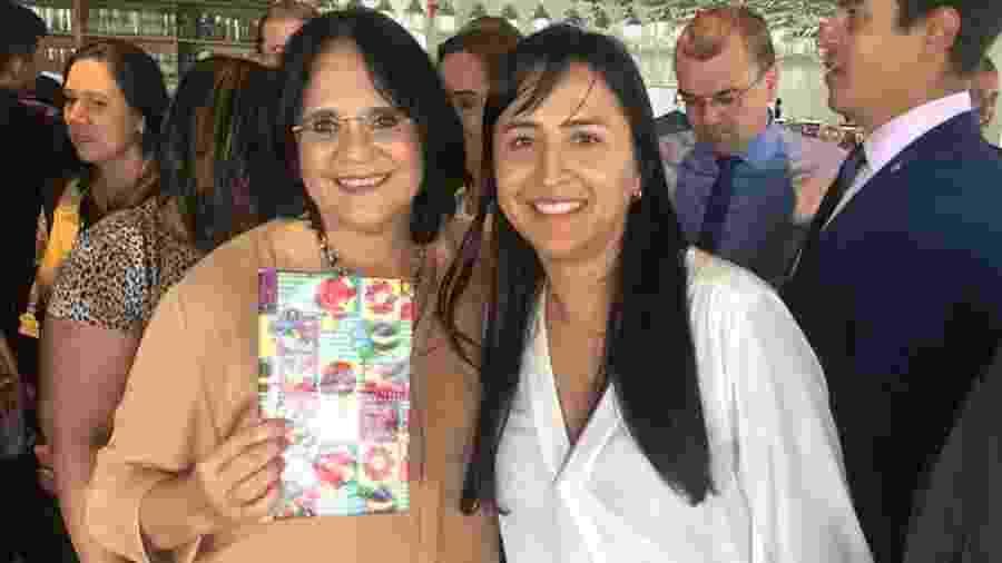 Damares participa de evento com a ex-secretária Sandra Terena - Reprodução/Instagram