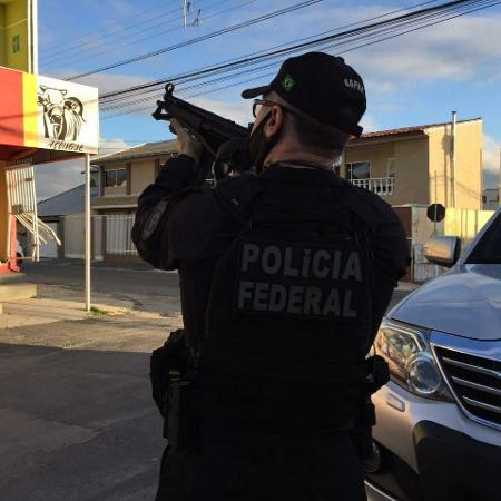 Polícia Federal durante Operação Enterprise; 50 toneladas de cocaína apreendidas durante investigação - Divulgação