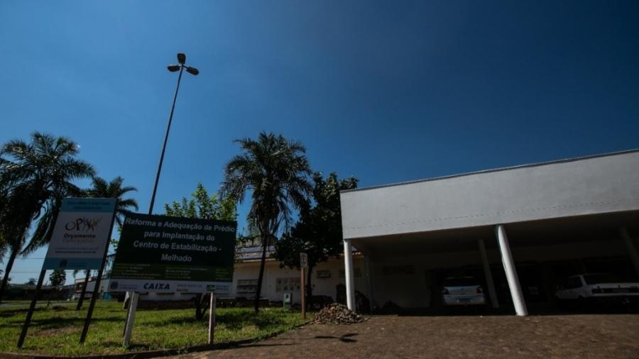 Hospital de Retaguarda do Melhado, na cidade de Araraquara (SP) - Divulgação
