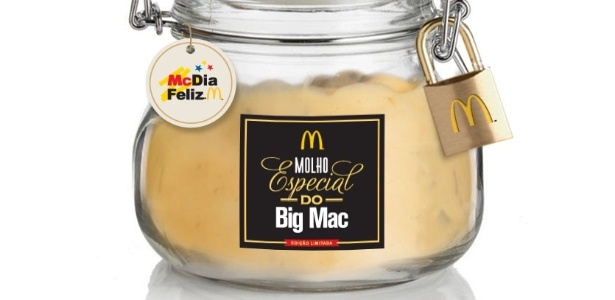 06365ca1af4 McDonald s vende cem potes do molho especial do Big Mac pela ...