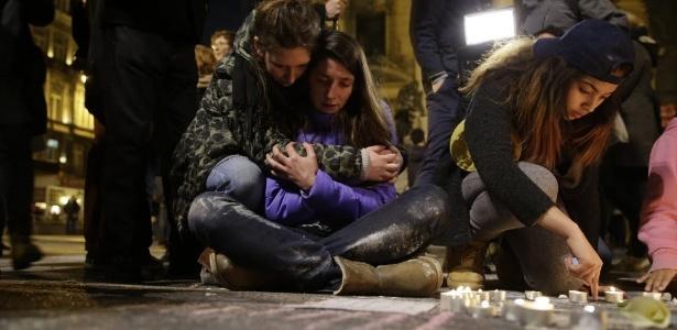 """""""Foi horrível. As pessoas gritavam e choravam"""", lembra testemunha - Kenzo Tribouillard/ AFP"""
