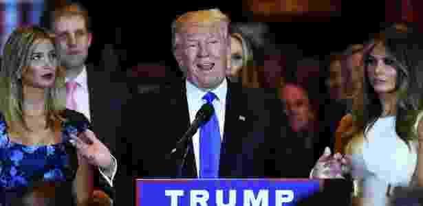 Donald Trump, pré-candidato do partido Republicano à Casa Branca - Jewel Samad/AFP