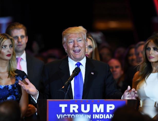 Donald Trump, pré-candidato do partido Republicano à Casa Branca