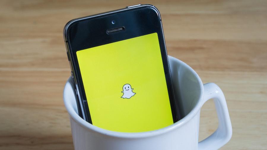 celular roubado snapchat