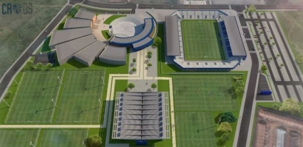 Obras da nova arena do Cruzeiro de Porto Alegre ainda não foram concluídas; objetivo é arrecadar fundos para isso  - Divulgação