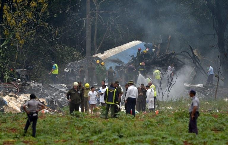 Avião cai em Cuba nesta sexta-feira, dia 18 de maio, pouco tempo depois de decolar de Havana