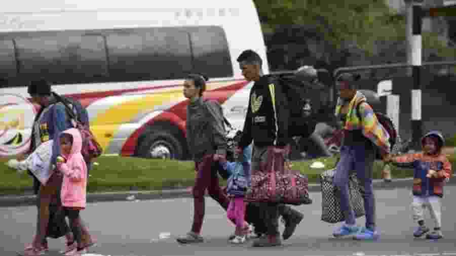 Mais de 3 milhões de pessoas fugiram da Venezuela nos últimos anos e, diz a ONU, esse número deve passar de 5 milhões em 2019 - Getty Images