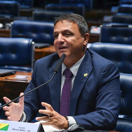 20.mar.2019 - O senador Marcio Bittar (MDB-AC) - Jefferson Rudy/Agência Senado