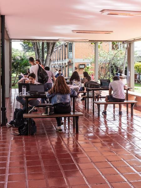 """Na foto, a UnB (Universidade de Brasília). Atualmente, nem todos os chamados """"recursos próprios"""" são revertidos às instituições federais de ensino - Pryscilla K/UOL"""
