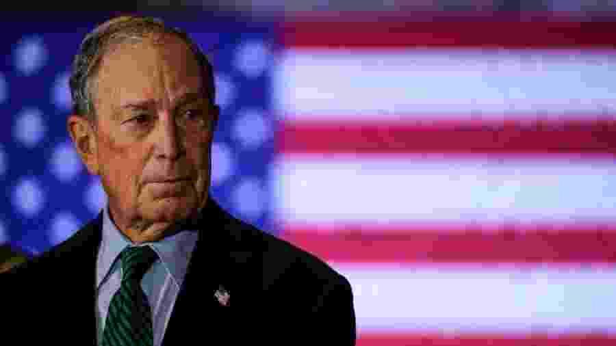 Bilionário Michael Bloomberg investirá a favor do democrata nos estados de Texas e Ohio - Getty Images