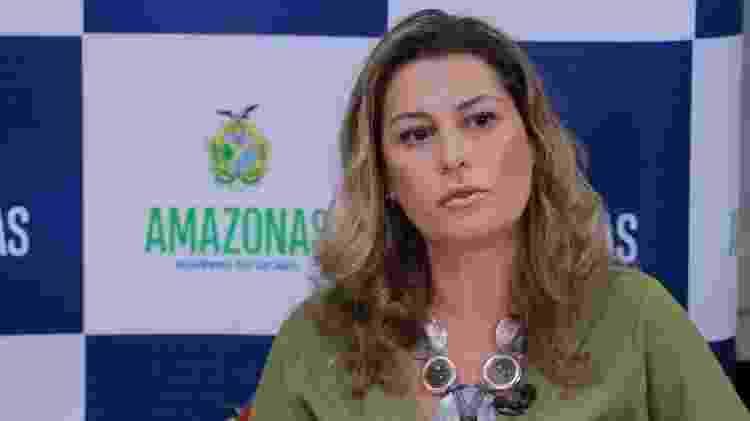 Simone Papaiz, secretária de saúde do AM -  Foto: Diego Peres/Secom -  Foto: Diego Peres/Secom