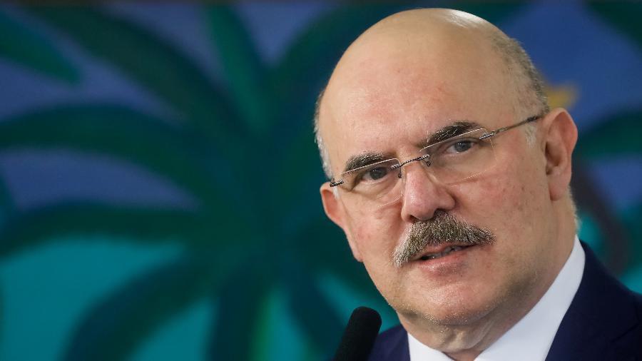 O ministro da Educação, Milton Ribeiro - Isac Nóbrega/PR