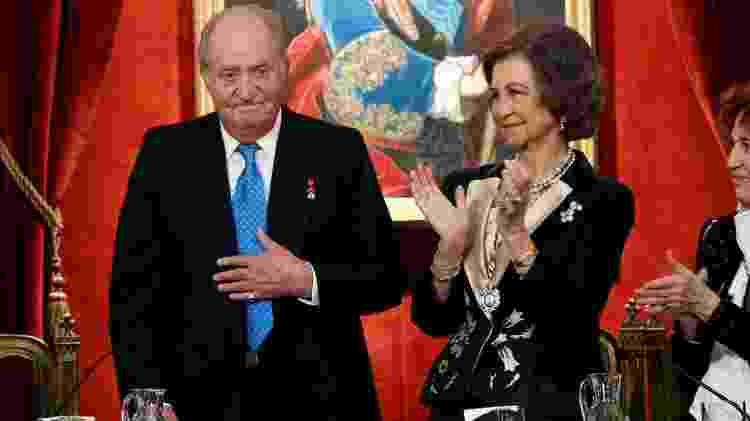 O rei emérito está casado com a rainha Sofia desde 1962 - Getty Images - Getty Images