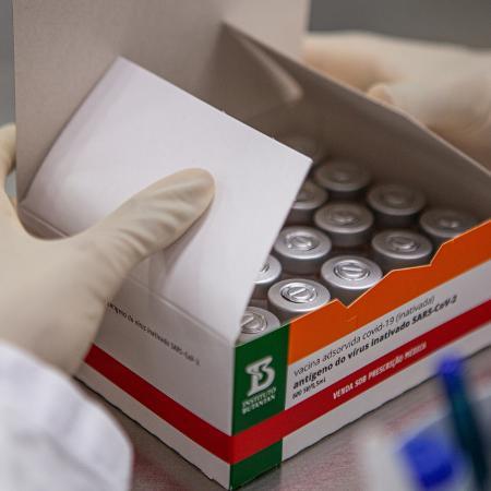 Moradores de Serrana com idade acima de 18 anos receberão a vacina desenvolvida pelo Butantan em parceria com a Sinovac - Divulgação/Instituto Butantan