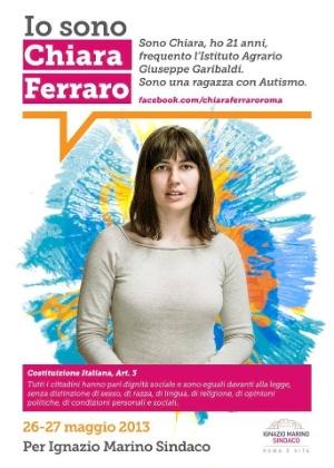 Chiara Ferraro é uma das candidatas das primárias do centro-esquerdista Partido Democrático
